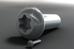 Button head Torx bolt - 86 sizes