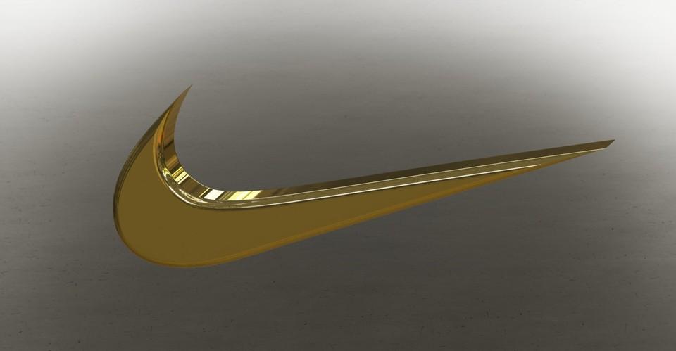 nike swoosh | 3D CAD Model Library