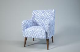 Molly Armchair - Blue Diamond - Made.com