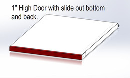 Cleveron Low profile Door/Drawer