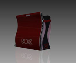 Boxx Zero workstation concept
