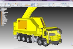 Heavy Duty Truck Mounted 90 ton Mobile Crane