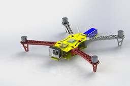 TBS Discovery Style PX4 Custom QuadCopter