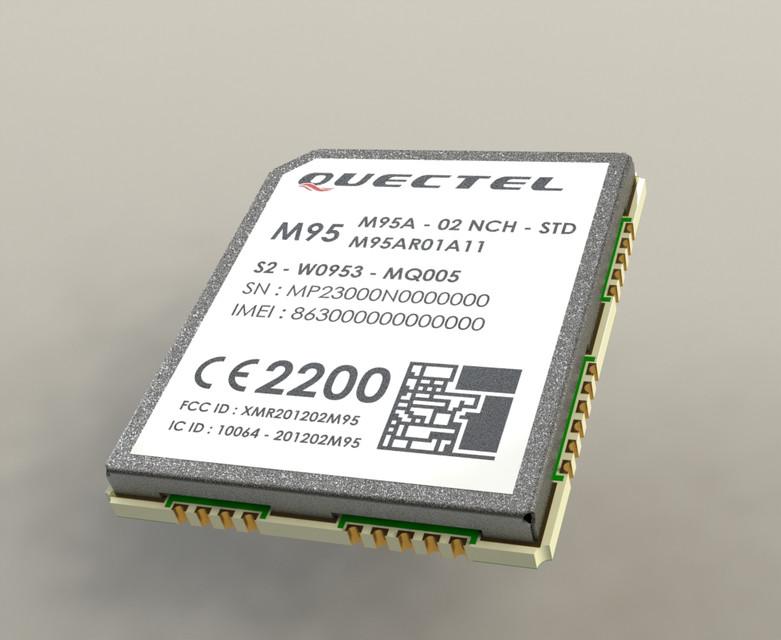 Quectel M95   3D CAD Model Library   GrabCAD
