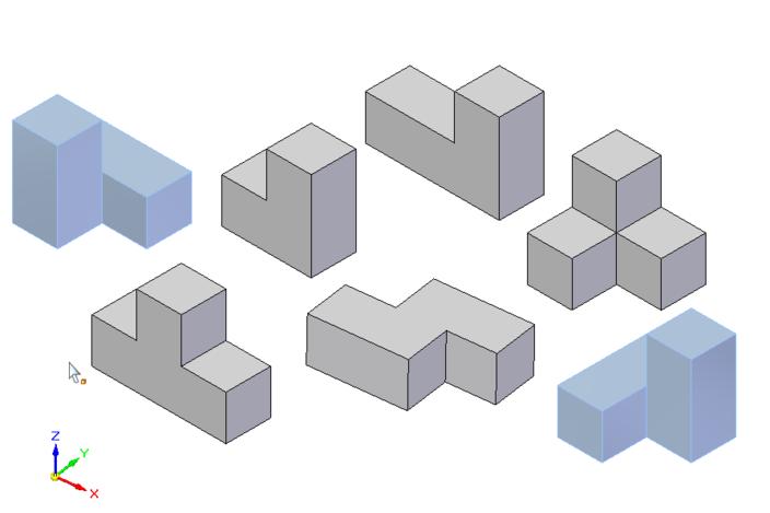 Cube Parts Soma Cube Parts