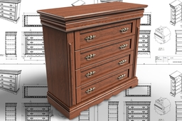Drawer Chest Cabinet