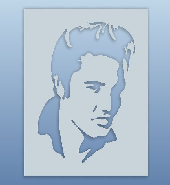 elvis presley step iges 3d cad model grabcad