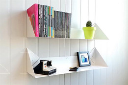 Sheet shelf (Estante chapa)