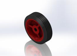 95mm Red Wheel