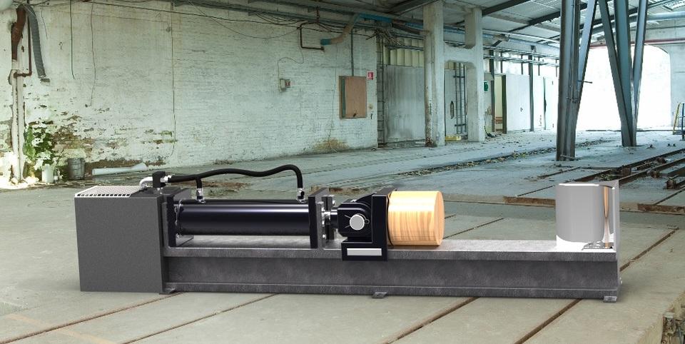 Hydraulic Log Splitter Stl Solidworks 3d Cad Model