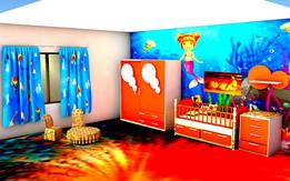 BED ROOM SET FOR BABY CELINE