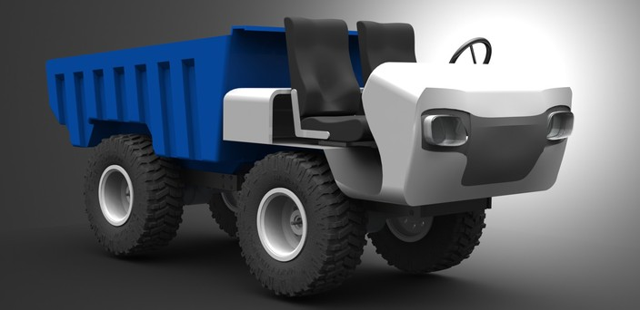 Scale Utility Vehicle V2.0 RC