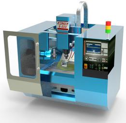 Milling machine(Fresadora CNC)