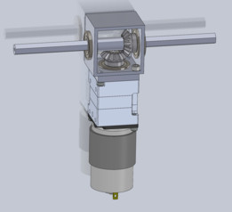 90 Degree VersaPlanatary Drive - Miter Gear Design
