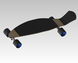 kicker longboard by Jabro