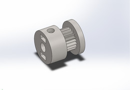 GT2 20 Tooth Timing Pulley - 3D Printable