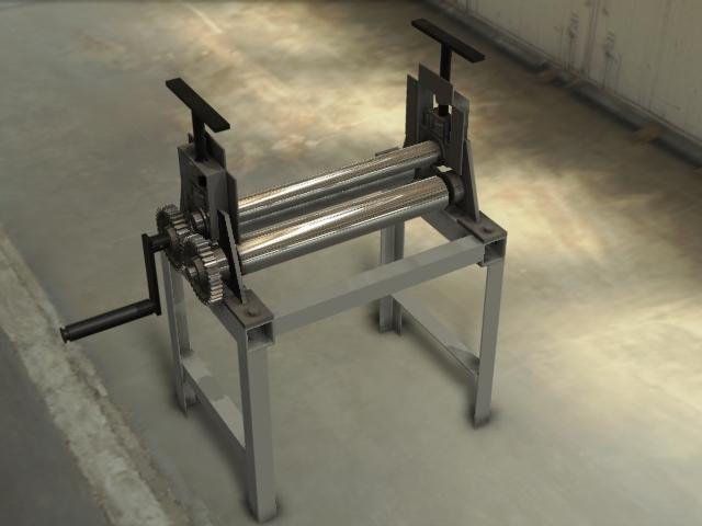 Awesome Metal Bending Machine Homemade At Work Metal Pipe >> Homemade Sheet Metal Roller 3d Cad Model Library Grabcad