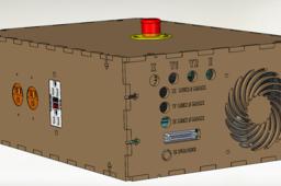 3/4 Axis CNC Electronics Enclosure