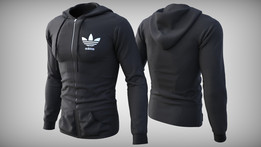 Adidas Originals Black Hoodie