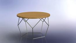 Pentagonal Table