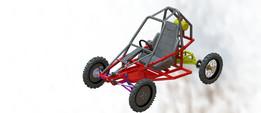 Kart Cross Piranha buggy