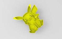Pikachu n Snorlax Cookie Cutter