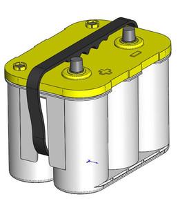 Optima Battery Yellow Top
