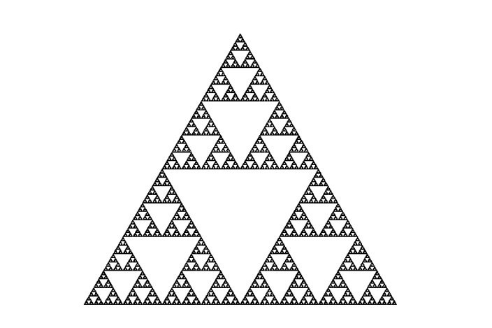 Sierpinski Triangle (10 Level) | 3D CAD Model Library