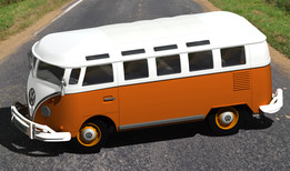 "Volkswagen Van ""Samba"" Toy Model with Catia V5"