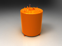 1000 Ltr Fire Resistant Diesel Storage Tank
