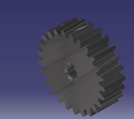 Parametric gear