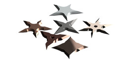 Star shurikens