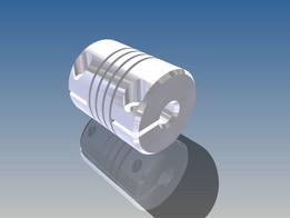 eBay Flexible Coupling 6.35mm Shaft