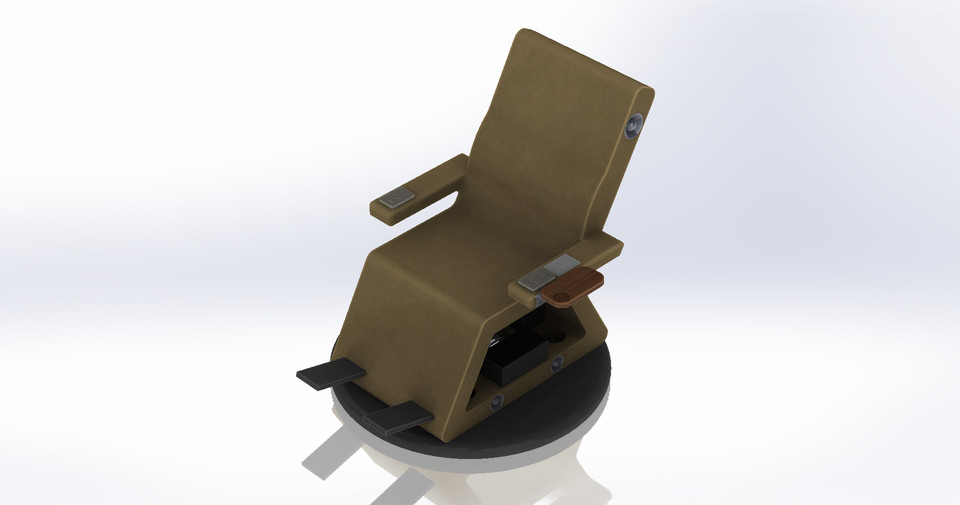 Hover Chair | 3D CAD Model Library | GrabCAD