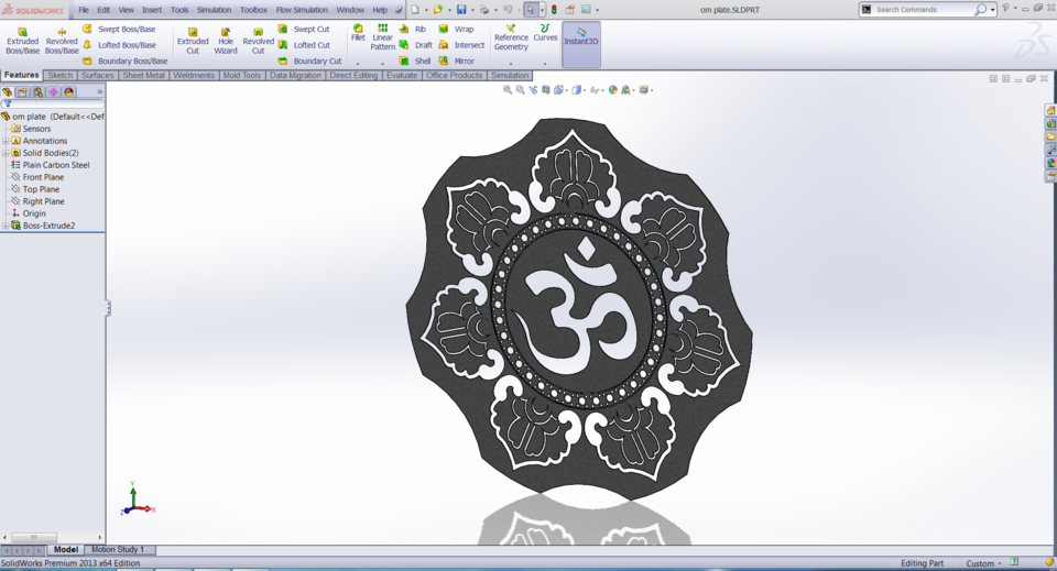 Laser Cutting Art | 3D CAD Model Library | GrabCAD