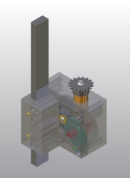 The mechanical in die tapping