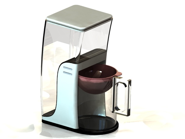 Coffee Maker Concept 3d Cad Model Grabcad