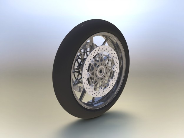 Galespeed front wheel