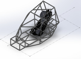 Frame for Baja Sae competition