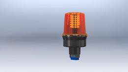 Ingram Products Amber LED Alarm Light