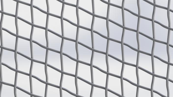 how to clean steel mesh