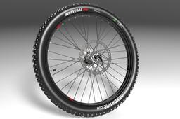 Motopedal Rear wheel