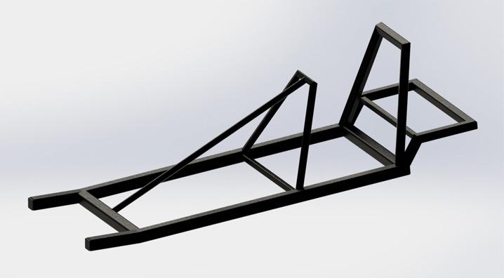 Go kart frame | 3D CAD Model Library | GrabCAD