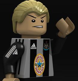 Alan Shearer LEGO minifig