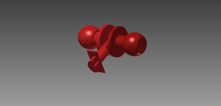 Door Knob | 3D CAD Model Library | GrabCAD