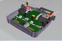 Taranis Plus Transmitter Internal Components