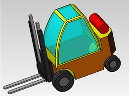 Fork Lift truck design