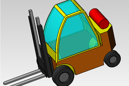 Fork Lift truck design