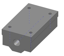Linear Motion Slide Block (34 x 58mm-inner 8mm)