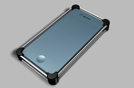 Ruggedized Protector Outfit for iPhone_4G